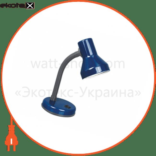 світильник настільний tf-05 60вт e27 синій промышленные светильники delux Delux 10008543