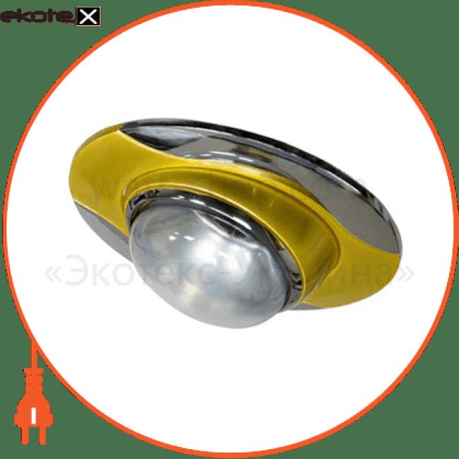 17668 Feron декоративные светильники 020 r-50 золото-хром / d/l e14 gd-cm