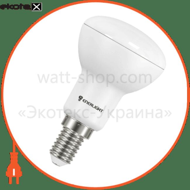 лампа світлодіодна enerlight r50 6вт 3000k e14 светодиодные лампы enerlight Enerlight R50E146SMDWFR