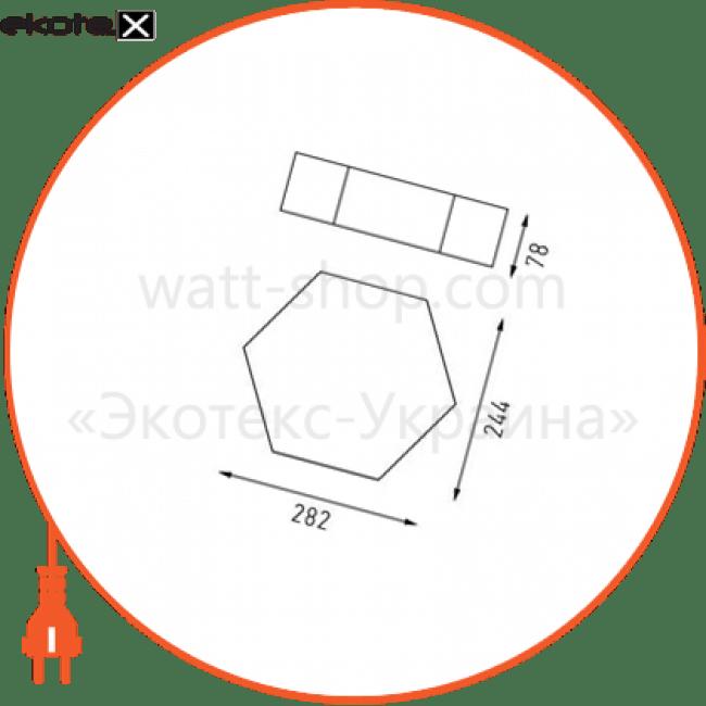 ceiling lamp cleo 15w s gl садово-парковые светильники Intelite I428315S-GL