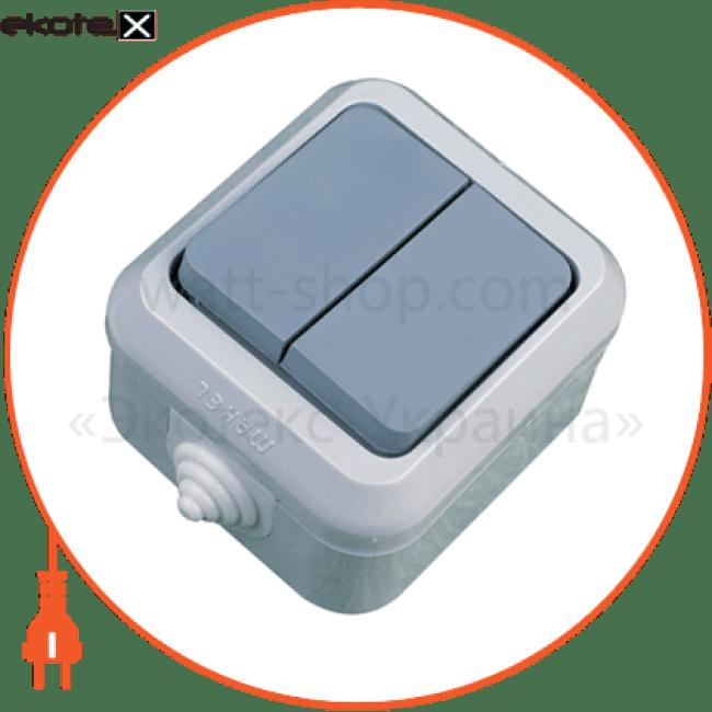18101 Makel выключатель вимикач 2-клавішний