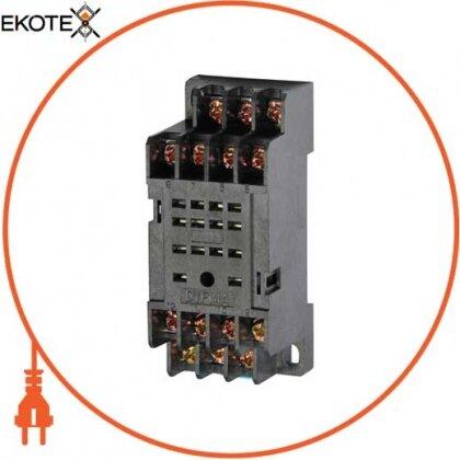 Enext i.pif.14a разъем модульный e.control.p34s для промежуточного реле 3а на 4 группы контактов