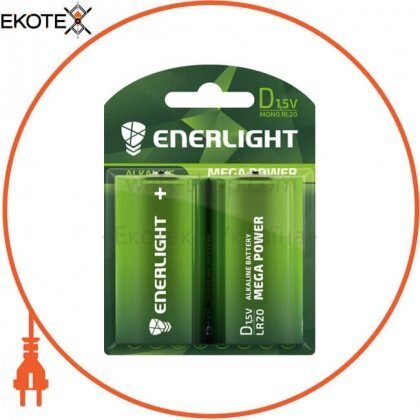 Enerlight 90200102 батарейка enerlight mega power d bli 2