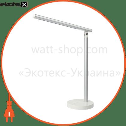 eurolamp led світильник настільний smart 8w 3000k-6500k dimmable сріблястий (8) светодиодные светильники eurolamp Eurolamp LED-TLD-8W(silver)