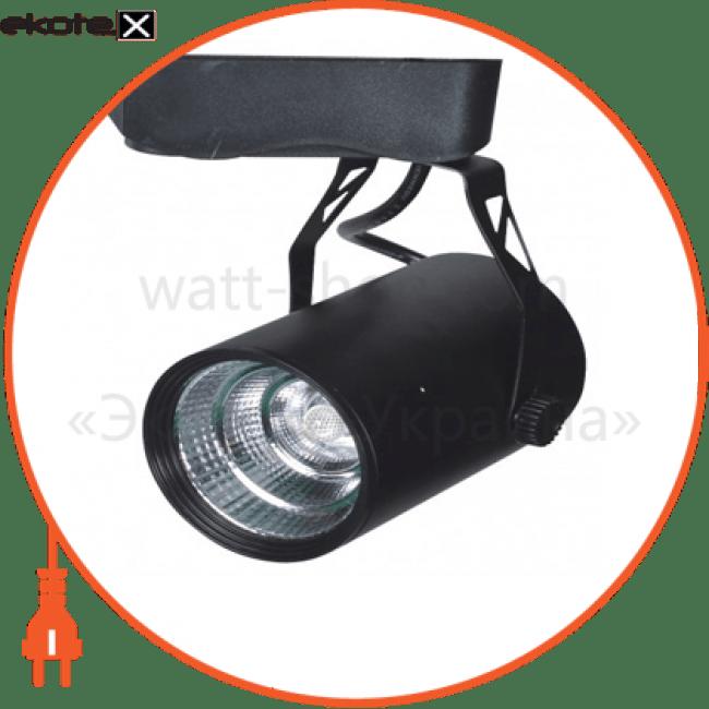 led-светильник ledster трековый cob-zt-020, 20w, ac185-265v, black, 4000k светодиодные светильники ledstar LEDSTAR 101335