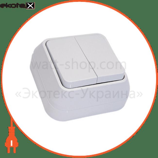 45103 Makel выключатель вимикач 2-клавішний
