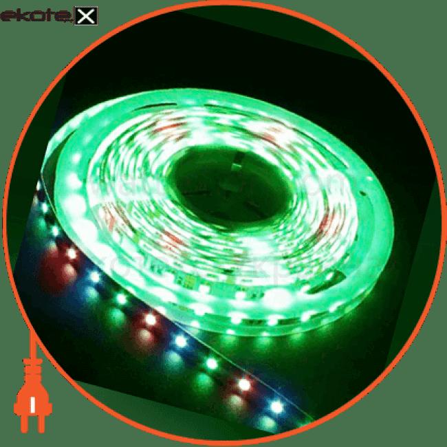 ls606/ sanan led-rl 60smd(5050)/m 14,4w/m 12v 5m*10*0.22mm rgb на белом светодиодная лента feron Feron 27802