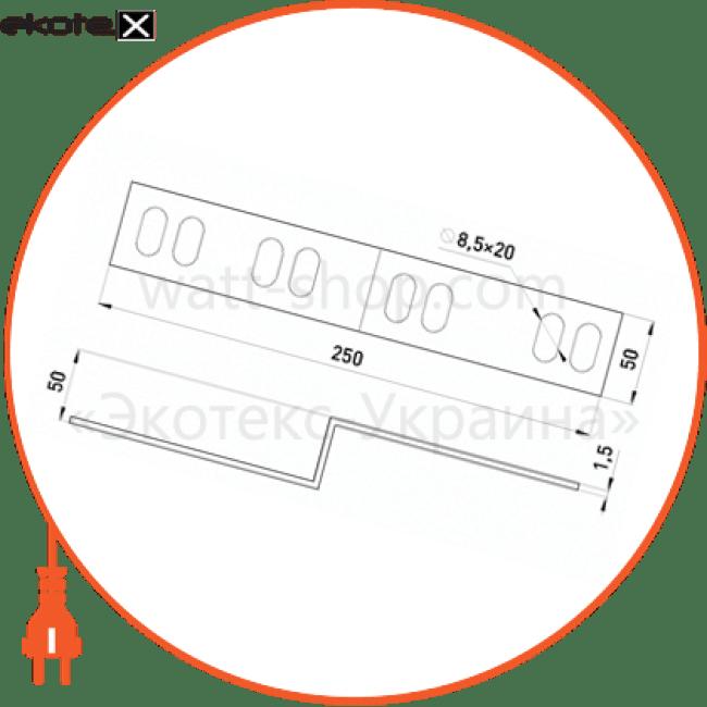 правобічна редукція легка 50х50 мм лотки металлические и аксессуары Enext 405-5P-R