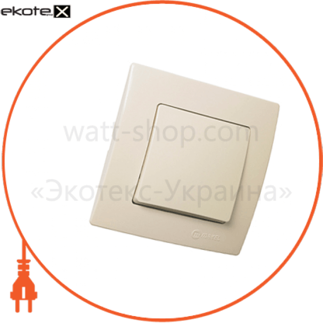 32010001 Makel выключатель вимикач 1-клавішний