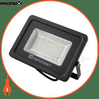 прожектор 30w 2700lm 6400k ip65 evro light ev-30-01 sanan светодиодные светильники евросвет Евросвет 39420