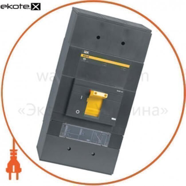 IEK SVA61-3-1250 авт. выкл. ва88-43 3р 1250а 50ка з електр. розчіпл. мр211 iek
