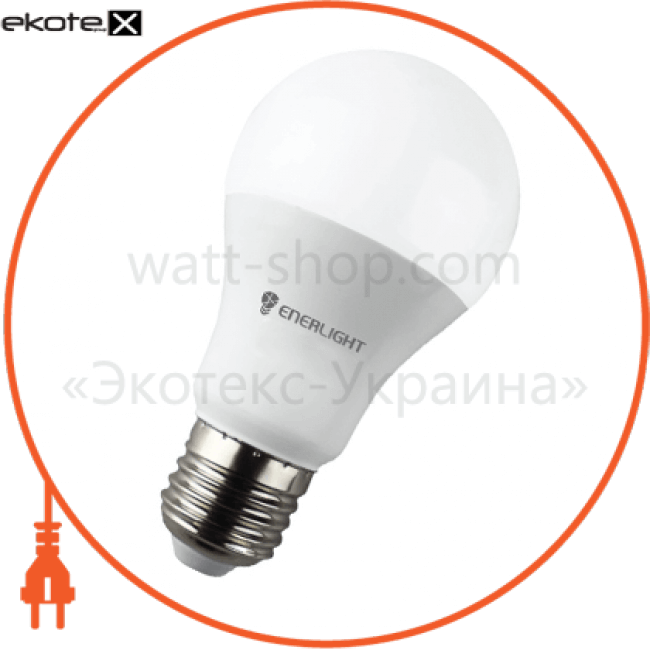 A60E278SMDWFR Enerlight светодиодные лампы enerlight лампа світлодіодна enerlight a60 8вт 3000k e27