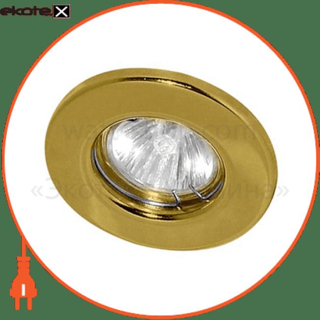 15110 Feron декоративные светильники dl 10 золото под mr-16 неповоротный