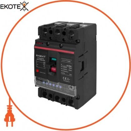 Enext i0770057 силовой автоматический выключатель e.industrial.ukm.125re.100 с электронным расцепителем, 3р, 100а