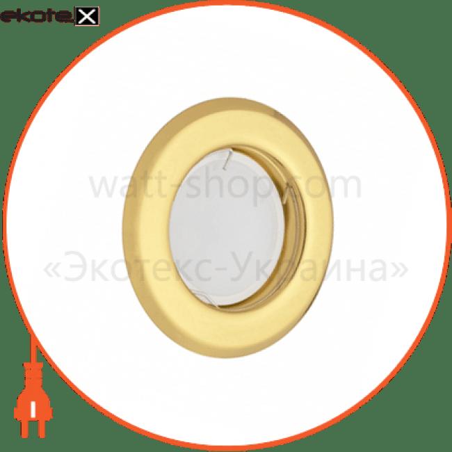 90008207 Delux декоративные светильники світильник точковий неповоротний delux hl160011 50вт g5.3 золото