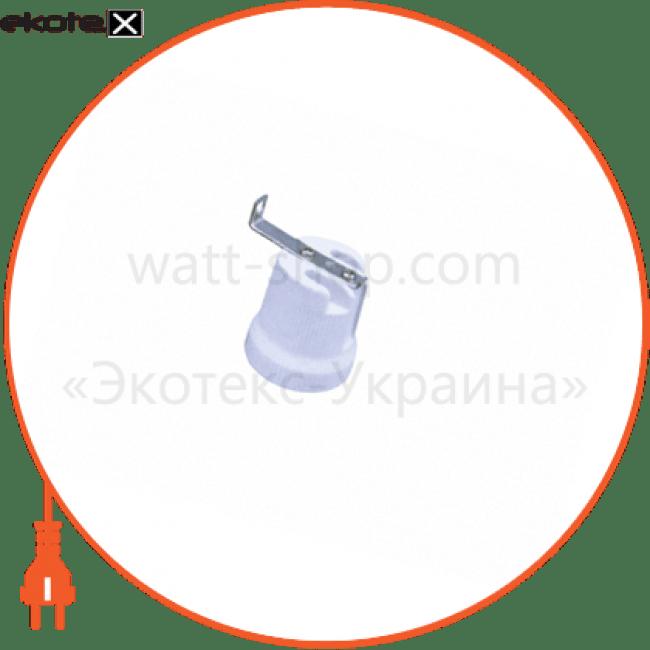 тримач_delux_f519d e27_керам.патрон з скобою комплектующие для светодиодных ламп Delux 10008355