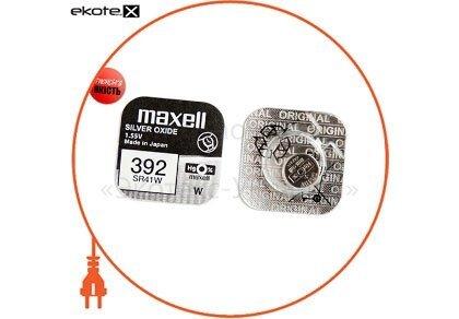 """Maxell 18290800 оксид-серебряно-цинковые  батарейка maxell """"таблетка"""" sr41w 1шт/уп"""