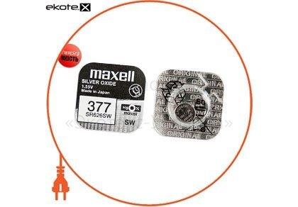 """Maxell 18292000 оксид-серебряно-цинковые  батарейка maxell """"таблетка"""" sr626sw 1шт/уп"""