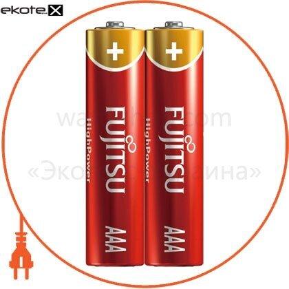 FUJITSU 12030 щелочная батарейка fujitsu alkaline high power ааa/lr03 2шт/уп shrink