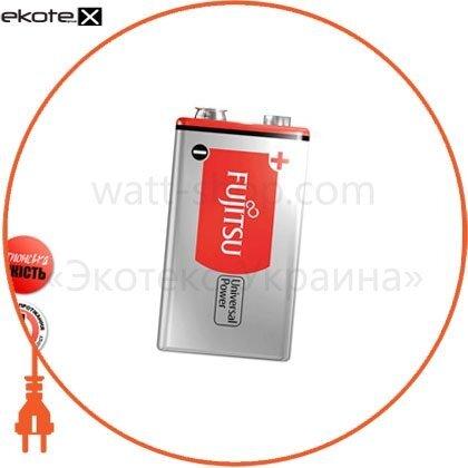 FUJITSU 39850 щелочная батарейка fujitsu alkaline universal power  9v/6lf22 1шт/уп shrink