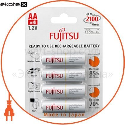 FUJITSU FDKB00002 аккумулятор fujitsu white ni-mh аа/r6 4шт/уп blister