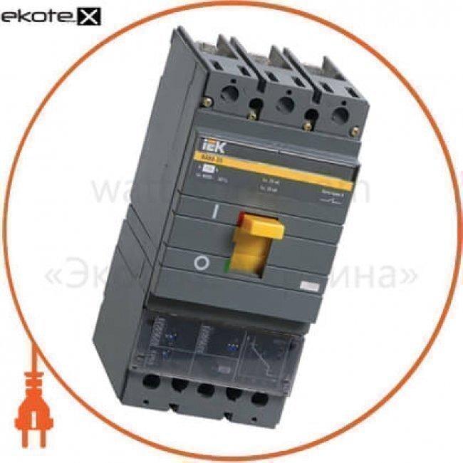 IEK SVA31-3-0250 авт. выкл. ва88-35 3р 250а 35ка з електр. розчіпл. mp211 iek