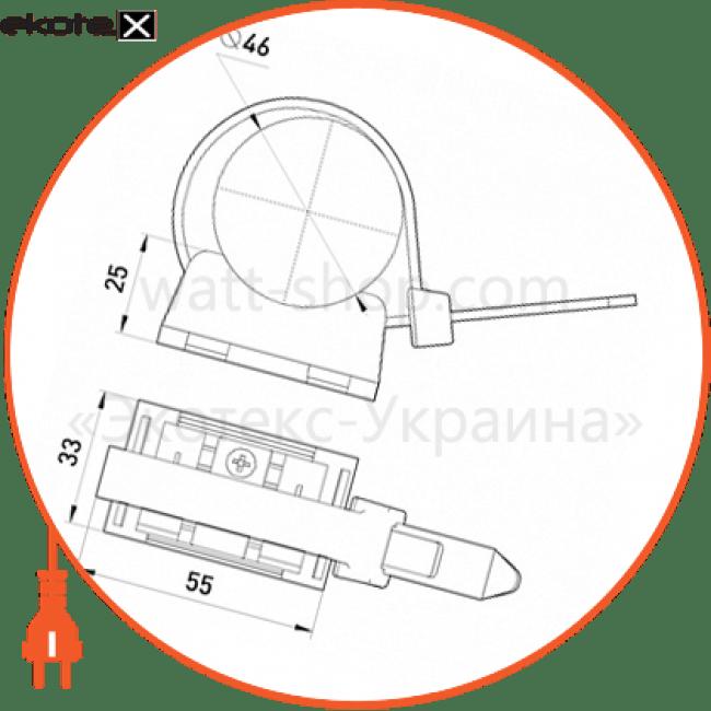 зажим дистанционный tarel.ukd.4.120.2.25 (диам.связки до 46 мм) арматура для сип Enext 98