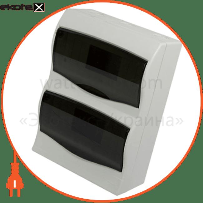 корпус пластиковий 16-модульний e.plbox.stand.n.16m, навісний multusan