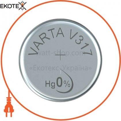 Varta 317101111 батарейка varta v 317 1 шт