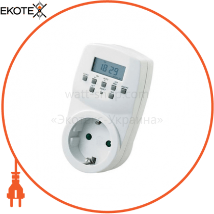 Horoz Electric 108-002-0001-010 таймер электронный 3500w 220-240v 16a 20-программ