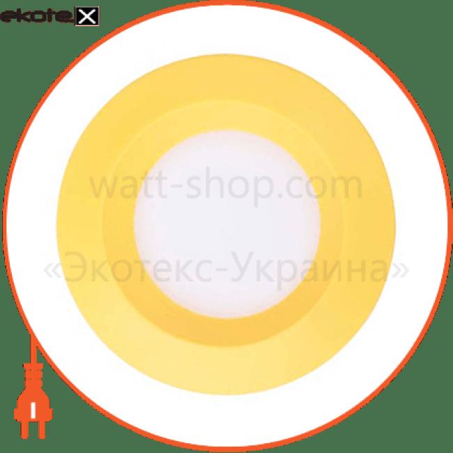 al525 3w круг, желтый 240lm 5000k 90*26mm светодиодные светильники feron Feron 28524