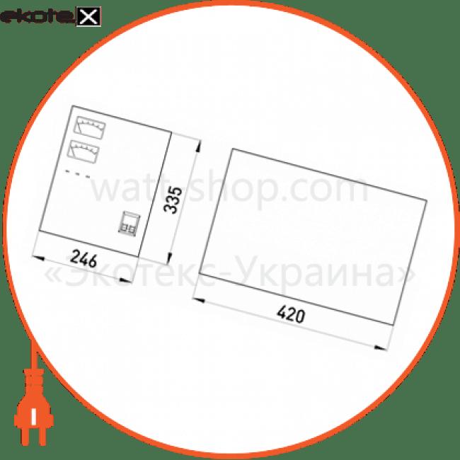 стабілізатор напруги снвт-10000-1, 10000 va