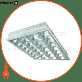 растровый светильник  dedra t8 dptb kit 4x18w/840 hf лампы в комплекте cветильники osram Osram 4008321526496