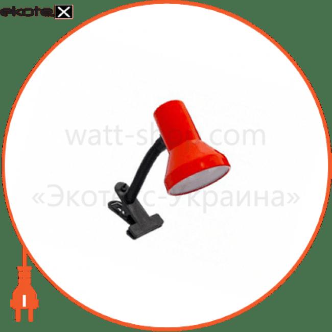 світильник настільний tf-04 60вт e27 червоний промышленные светильники delux Delux 10008537