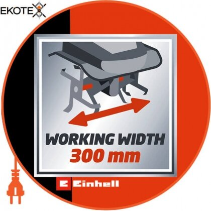 Einhell 3431050 культиватор електричний gc-rt 7530