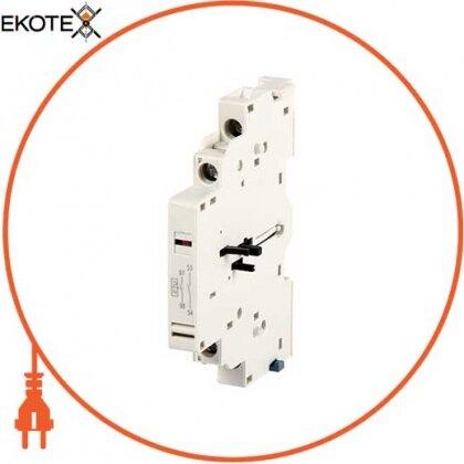 Enext p004035 блок контактов боковой для азд (0,4-32) e.mp.pro.ad.0110: дополнительный 1no + сигнал 1nc