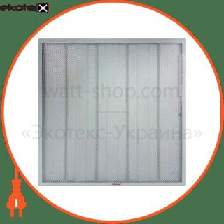 464-LEPS-60036 Lezard светодиодные светильники lezard панель cвітлодіодна із розсіювачем призма - 36вт (595*595*18mm) 6400k 3400 люмен