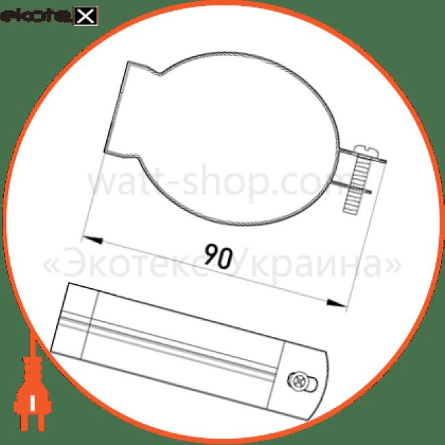 "i0470006 Enext трубы металлические и аксессуары кріплення металеве e.industrial.pipe.clip.hang.2"" для підвіски труб"