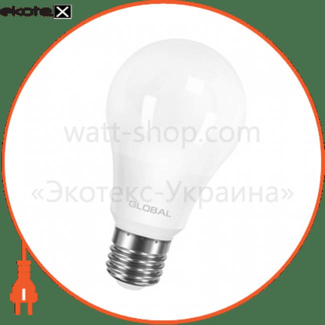 лампа світлодіодна a60 10w 4100k 220v e27 al светодиодные лампы global Global 1-GBL-164-02