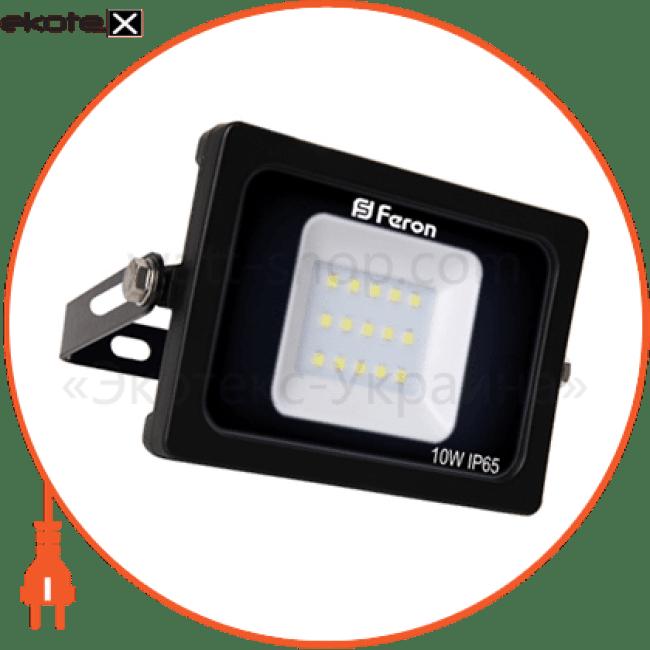 ll-510 15leds 10w 6400k 230v (136*113*28mm) черный ip 65 светодиодные светильники feron Feron 30070