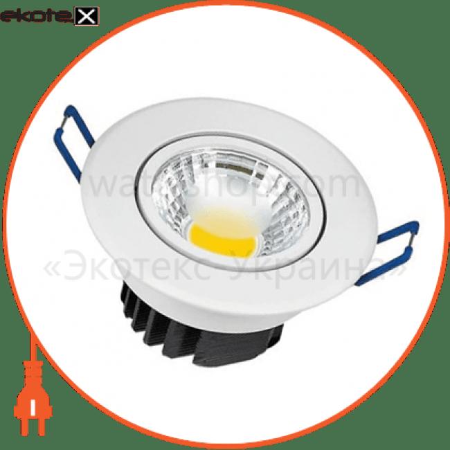 """светильник """"lilya-3"""" 3w 4200к белый, хром светодиодные светильники horoz eelectric Horoz Eelectric 016-009-0003"""