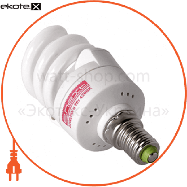 l0260001 Enext энергосберегающие лампы enext лампа энергосберегающая e.save.screw.e14.7.4200, тип screw, цоколь е14, 7w, 4200 к