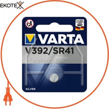 Varta 392101111 батарейка varta v 392 1 шт
