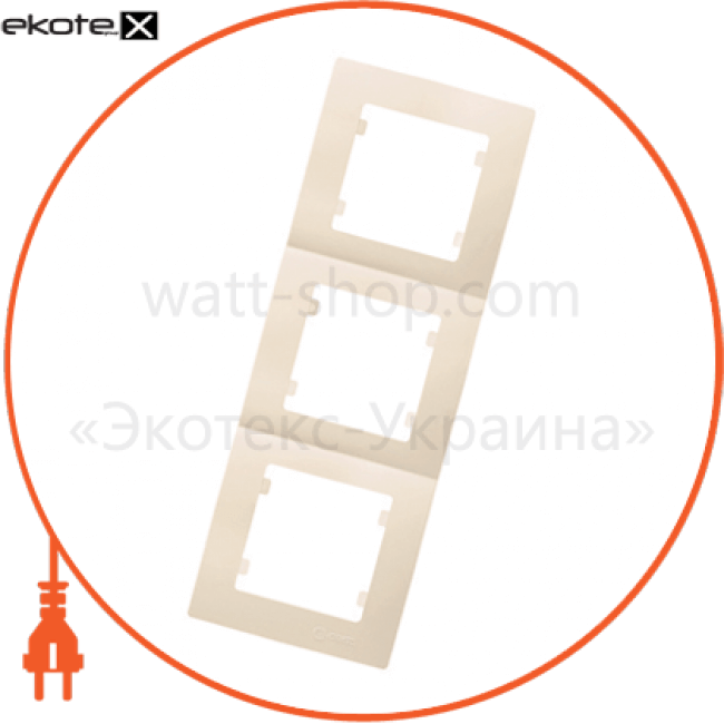 рамка 3-на вертикальна рамка Makel 32010708