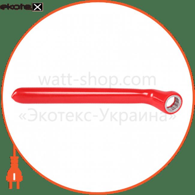 ключ ізольований накидний e.insulating.ring.spanner.40317, 17мм изолированный инструмент Enext p0470014