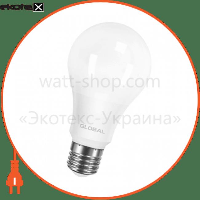 лампа світлодіодна a60 12w 4100k 220v e27 al светодиодные лампы global Global 1-GBL-166-01