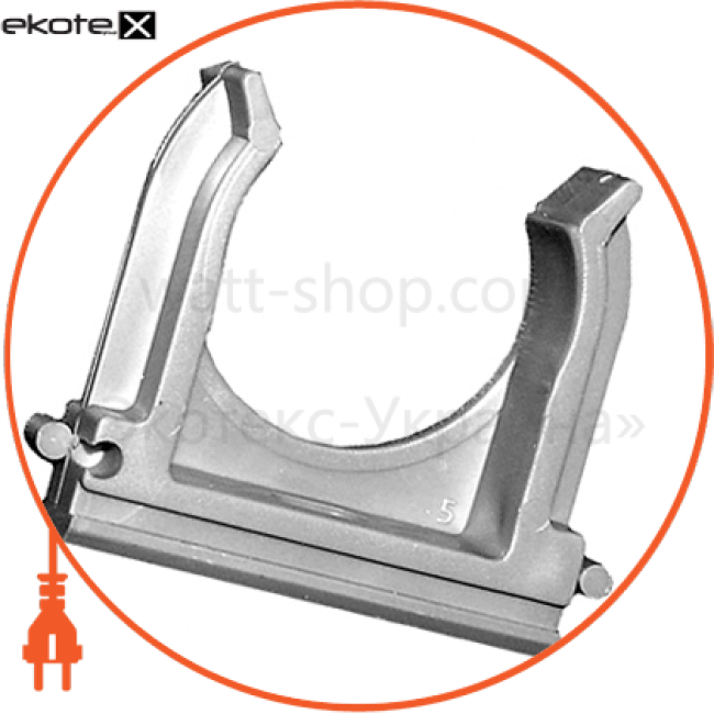 s028008 Enext трубы гофрированные и аксессуары хомут-клипса e.g.tube.clip.stand.16 для гофротрубы д.16