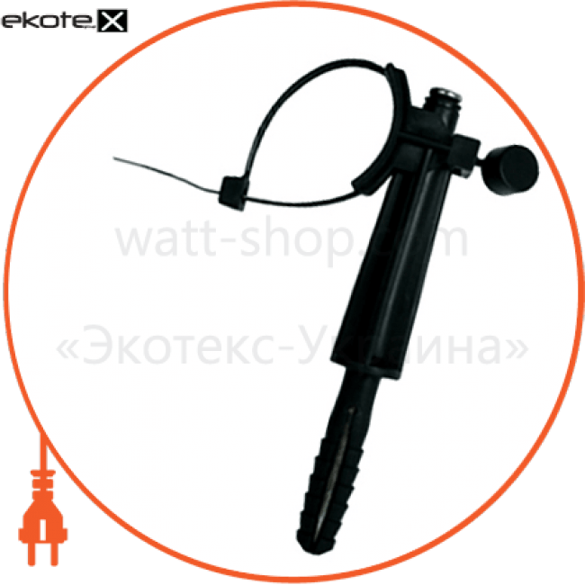 дюбель з хомутом e.holder.pro.60 під цвях, дистанційний 60мм арматура для сип Enext p046003