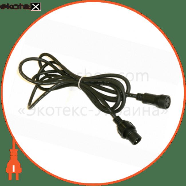 конектор для гірлянд з одним виходом 3м. ip44 комплектуюшие Delux 10073873
