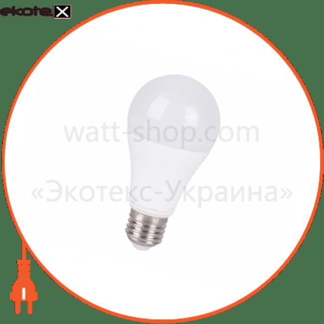лампа світлодіодна delux bl 60 12вт 3000k 220в e27 теплий білий светодиодные лампы delux Delux 90005140